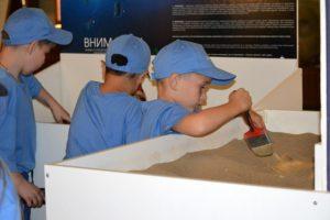 Визит детей из шахтерских регионов Сибири и Дальнего Востока