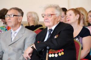 Торжественное мероприятие по случаю празднования 74-й годовщины Победы в Великой Отечественной Войне
