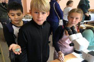 Выездная выставка Клуба юных геологов